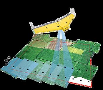 sensoriamento remoto com drone