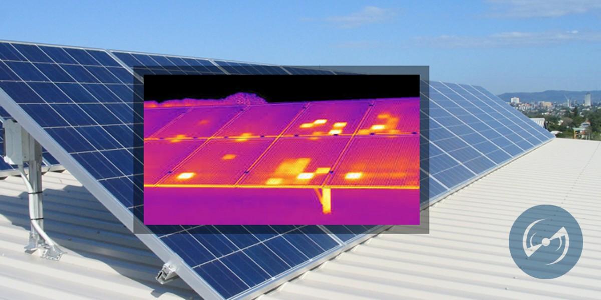 Inspeção de usina solar