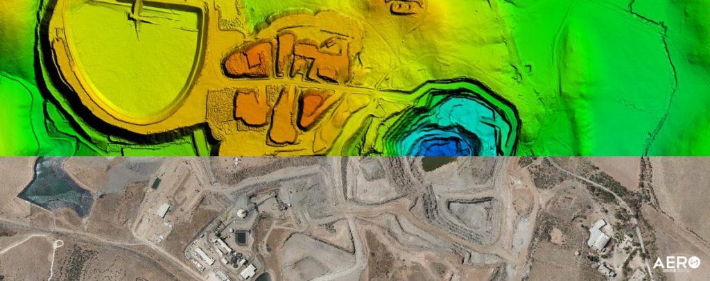 fotogrametria na mineração
