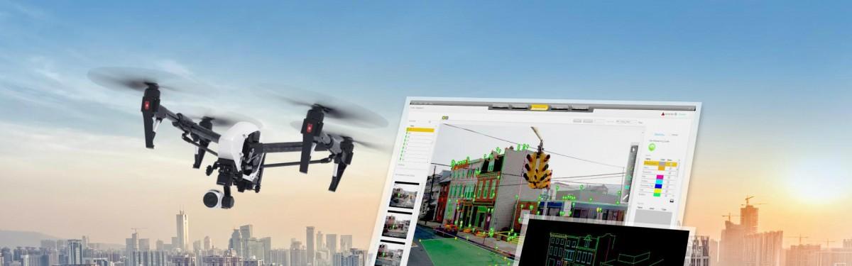 recadastramento imobiliário com drones