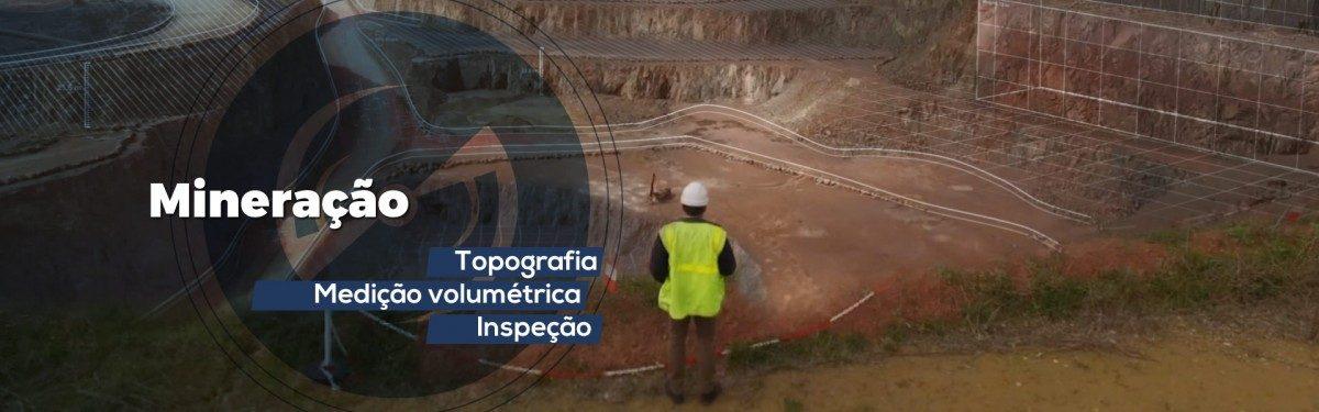 drone mineração