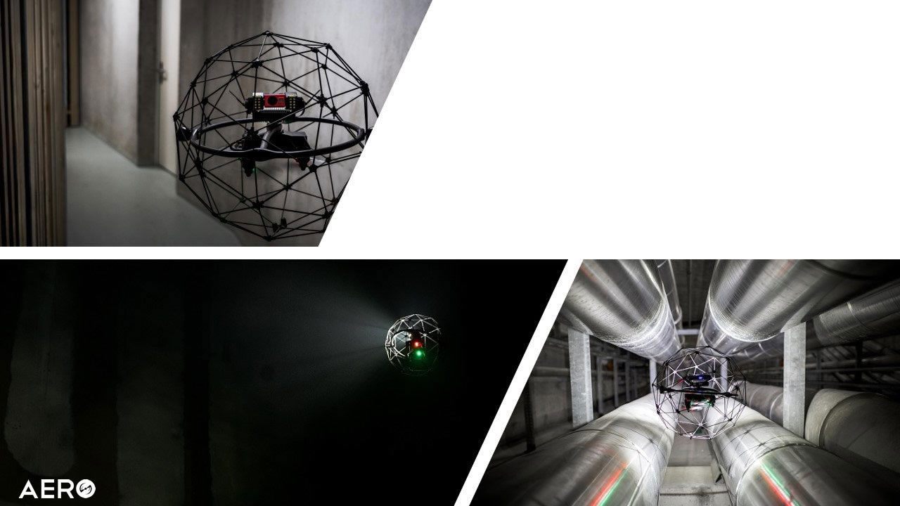 inspeção interna com drone