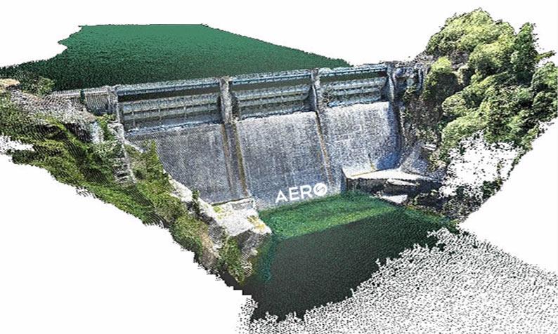 mapeamento de barragem mineração